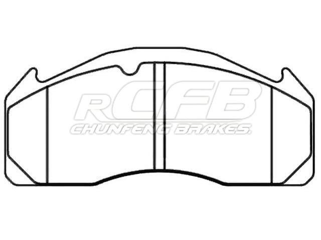 Brake Pad for CV&HEAVY DUTY:1 078 439